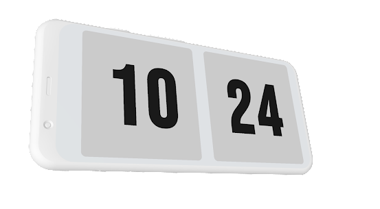 Zen Flip Clock 4