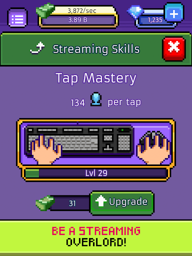 xStreamer - Livestream Simulator Clicker Game apkpoly screenshots 10