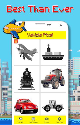 Foto do Car Color By Number - Pixel Art