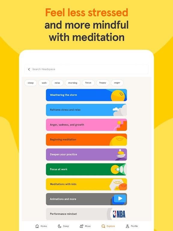 Headspace: Meditation & Sleep  poster 7