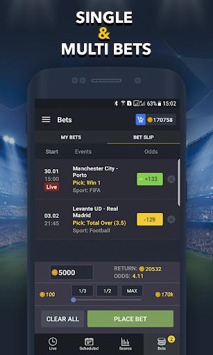 Sports Betting Game - BETUP  screenshots 5