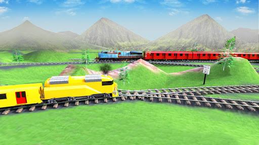 train vs train racing simulator screenshot 2
