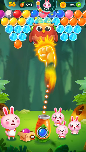 Bubble Bunny: Animal Forest Shooter apkpoly screenshots 8