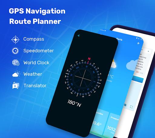 GPS Route Finder - GPS Location, Map Navigation apktram screenshots 7