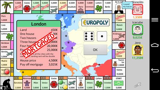 Europoly  screenshots 1