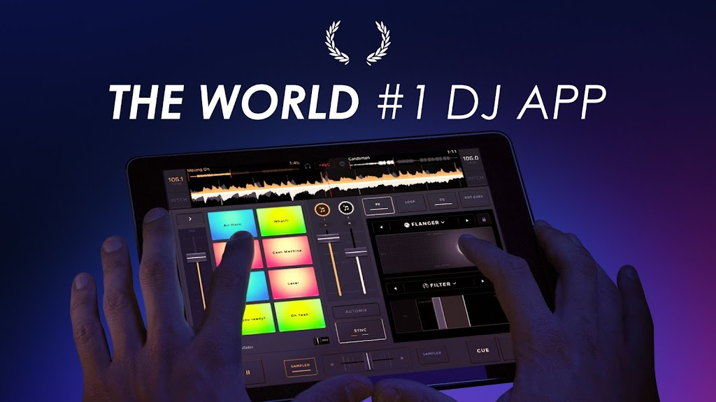 edjing Mix - Free Music DJ app  poster 0