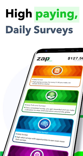 Zap Surveys - Earn Money and Gift Cards 1.0.1.7 Screenshots 1