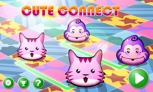 cute connect: lovely puzzle screenshot 1