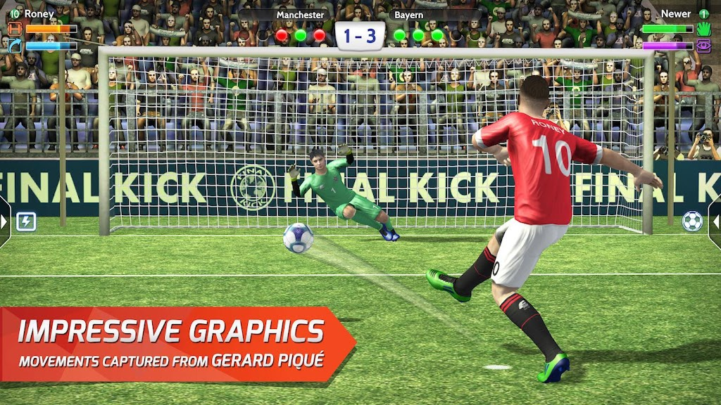 Final kick 2020 Best Online football penalty game  poster 10