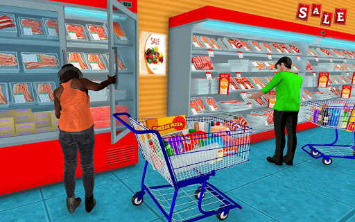 Supermarket Grocery Shopping Mall Family Game 1.8 screenshots 4