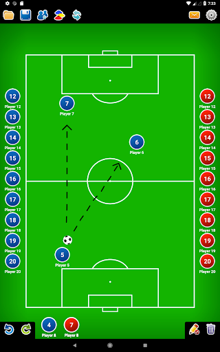 Coach Tactic Board: Soccer 1.3 Screenshots 8