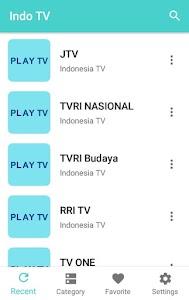 TV Indonesia Live - Semua Saluran TV Indonesia 3.0.0