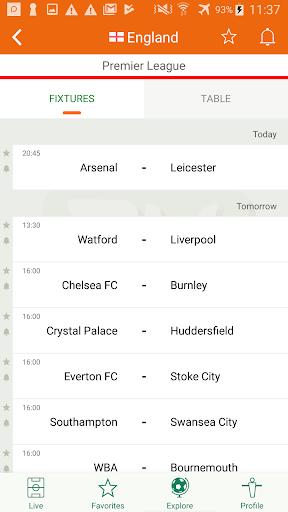 Futbol24 u2013 soccer live scores & results 2.46 Screenshots 5