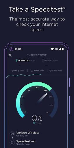 Speedtest by Ookla 4.5.32 screenshots 1