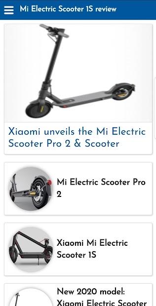 Imágen 2 de Mi Electric Scooter 1S review para android