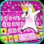 تحميل  Glitter Star Unicorn Keyboard Background