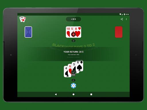 Blackjack - Free & Offline 1.7.1 Screenshots 10