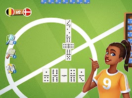 Dominoes Striker: Play Domino with a Soccer blend