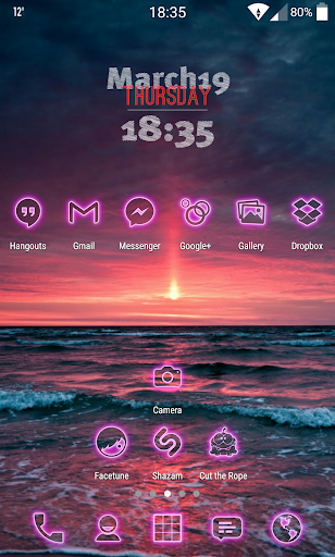 Neon-PinkPD Icon Pack For PC Windows (7, 8, 10, 10X) & Mac Computer Image Number- 8