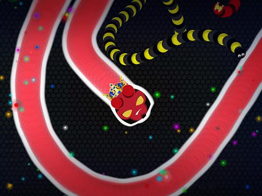 Snaky .io - Fun Multiplayer Slither Battle  screenshots 14
