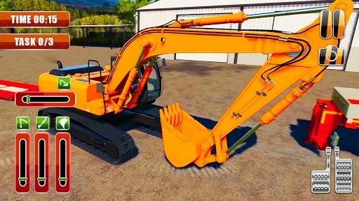 Heavy Excavator Simulator:Sand Truck Driving Game  screenshots 1