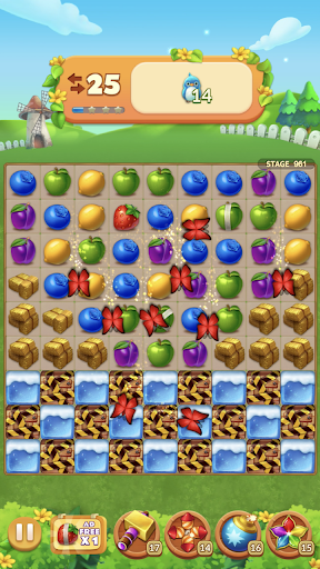 Fruits Farm: Sweet Match 3 games 1.1.0 screenshots 14