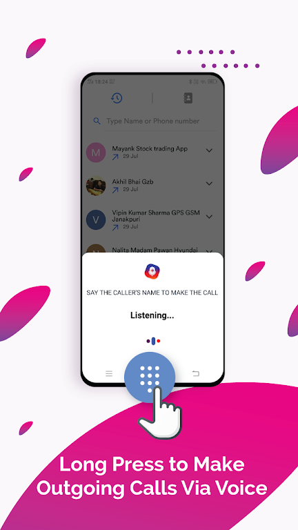 Vani Dialer - Answer Calls By Your Voice poster 3
