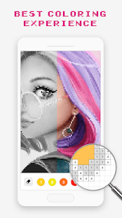 Pixel Art Book - Color by Number Free Games 1.9.9 Screenshots 3