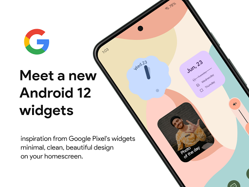 Download APK: Android 12 U for kwgt v1.1 [Paid]