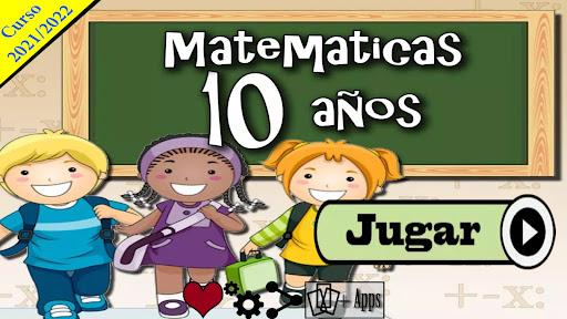 Matemáticas 10 años  screenshots 1