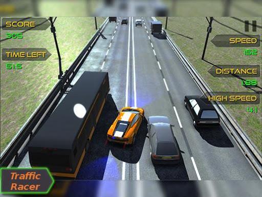 traffic moto racer screenshot 1