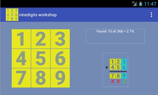 ninedigits workshop