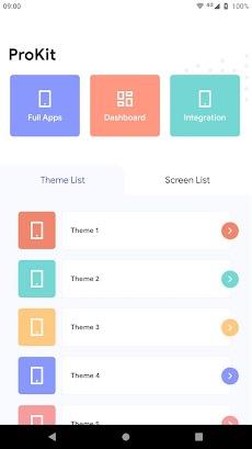 Prokit - Android App UI Design Template Kitのおすすめ画像1