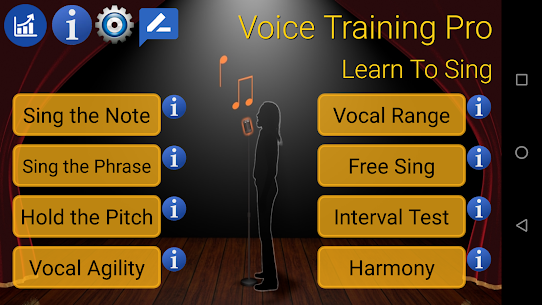 Voice Training Pro Sing the Phrase fixes MOD (Paid) 3
