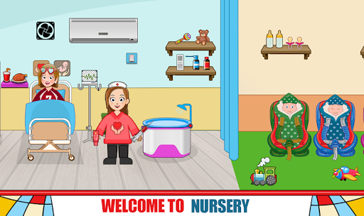 Pretend Hospital Doctor Care Games: My Town Life  screenshots 8