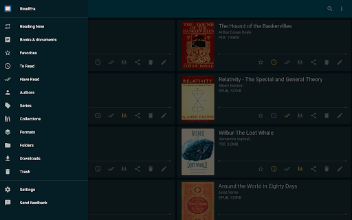 ReadEra - book reader pdf, epub, word 20.12.17+1320 Screenshots 9