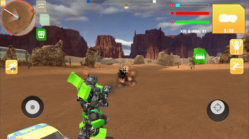 Robot War Free Fire - Survival battleground Squad 1.0 screenshots 3
