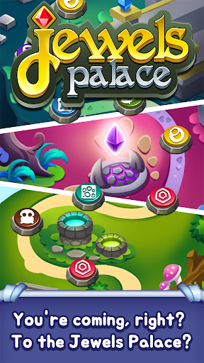 Jewels Palace: World match 3 puzzle master apkslow screenshots 13