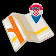 Map of Croatia offline
