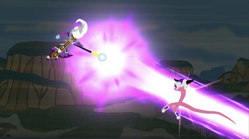 Télécharger Stickman Superhero Shadow Fighting  APK MOD (Astuce) screenshots 1