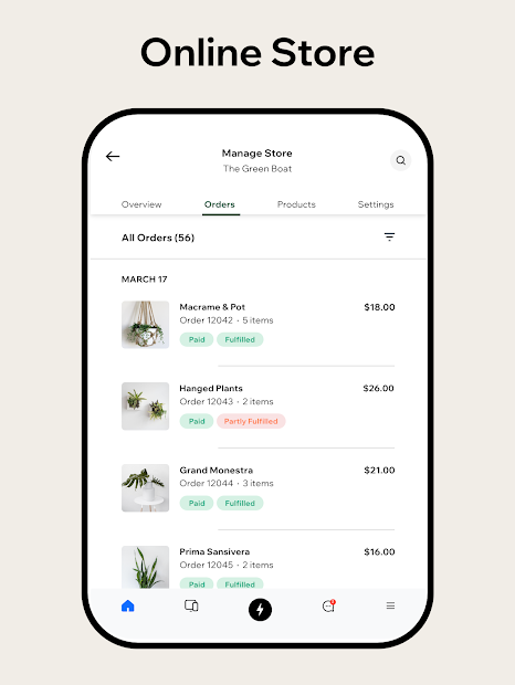 Captura 11 de Wix Owner: crea sitios, tiendas online o blogs para android