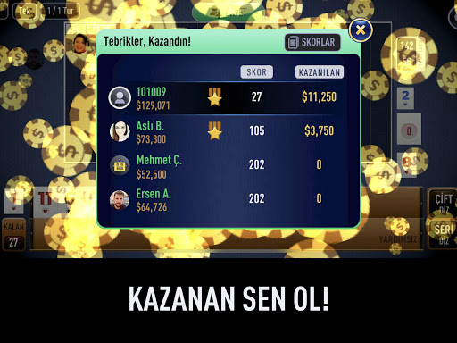 101 Yu00fczbir Okey Elit 1.4.4 screenshots 10
