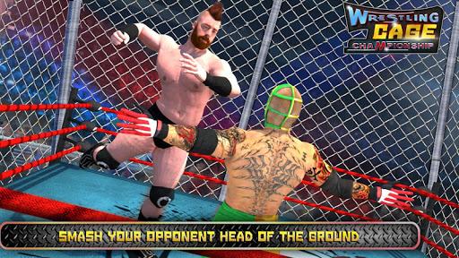 Wrestling Cage Championship : WRESTLING GAMES 6.5 screenshots 1