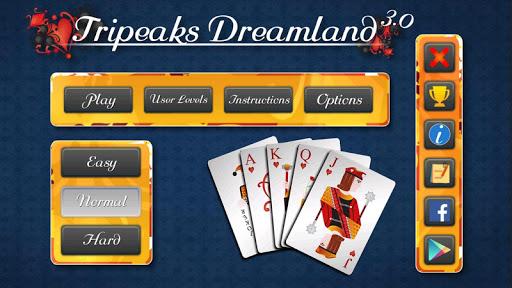 tripeaks dreamland screenshot 2