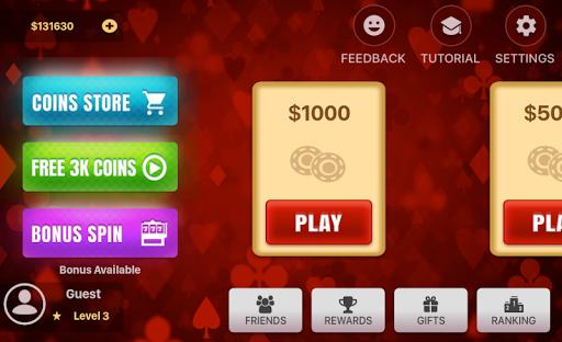Three Card Poker 2.0.5 screenshots 1