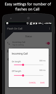Flash On Call APK Download For Android 4