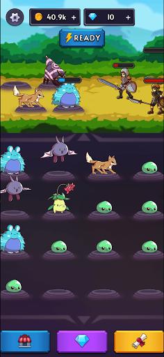 Monsters VS Hunters: Merge Idle RPG Battler  screenshots 10