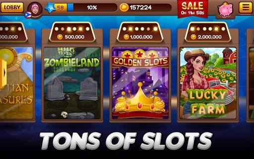 ud83cudfb0 Free Casino: Slots and Poker - win your jackpot  screenshots 4