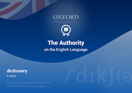 Oxford Dictionary of English Capture d'écran