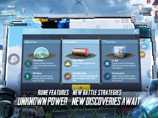 PUBG MOBILE - RUNIC POWER  APK screenshots 11